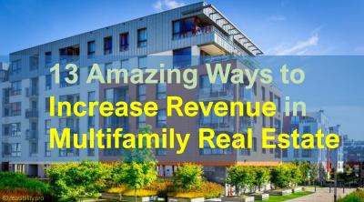 increase revenue in multifamily real estate